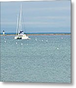 Waiting In Provincetown Metal Print