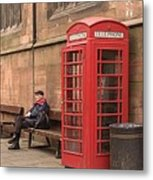 Waiting On A Call Metal Print by Mike McGlothlen