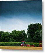 Waiting Out The Storms Metal Print by Christi Kraft