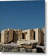 Waiting Tablets At Acropolis Metal Print