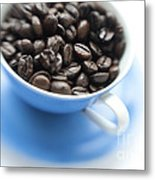 Wake-up Cup Metal Print
