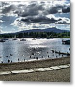 Wales On The Sea Metal Print