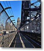Walk Across Sydney Harbour Bridge Metal Print