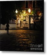 Walk In Accademia  Metal Print