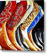 Walk In Style Metal Print by Camille Lopez
