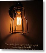 Walk In The Light Metal Print