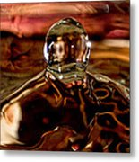 Walk Out Of The Water Metal Print
