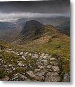 Walk To Hay Stacks Lake District Metal Print