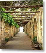 Walk To The Light Metal Print