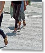 Walk To The Right Metal Print