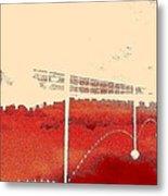 Walk-upside Metal Print by Dorothy Rafferty