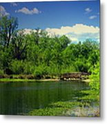 Walk With Me To The Other Side Metal Print