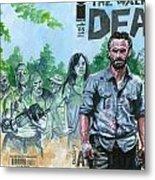 Walking Dead Ghosts Metal Print