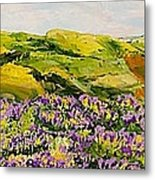 Walking Hills Metal Print
