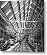 Walking In Nyc Metal Print