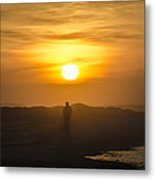 Walking In The Sunrise Metal Print