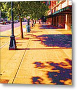 Walking To King Street Station Five-o-nine Pm Metal Print