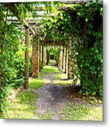 Walkway Metal Print by Carey Chen