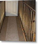 Walkway Upstairs Metal Print
