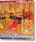 Wall Abstract 1 Metal Print