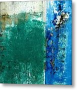 Wall Abstract 159 Metal Print