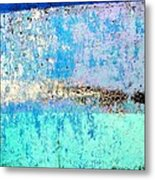 Wall Abstract 26 Metal Print