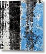 Wall Abstract 34 Metal Print