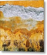 Wall Abstract 36 Metal Print
