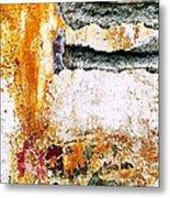 Wall Abstract 62 Metal Print