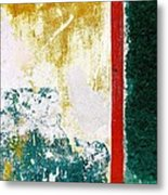 Wall Abstract 71 Metal Print