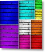 Wall Color Wall Metal Print by Semmick Photo