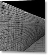 Wall Of Lights Metal Print by Eileen Shahbazian