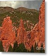 Wall Of The Gods Metal Print