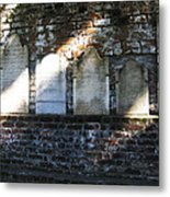 Wall Of Tombstones Knocked Down During Civil War Metal Print