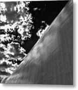 Wall Sky And Clouds Metal Print