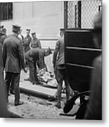 Wall Street Bombing, 1920 Metal Print