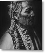 Walla Walla Indian Circa 1905 Metal Print