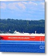 Wallenius Wilhelmsen Logistics Tamerlane Ship Metal Print