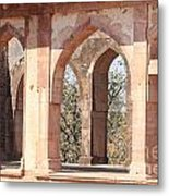 Walls And Nature Metal Print