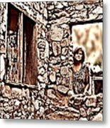 Walls Of The Heart Metal Print