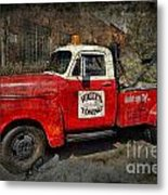 Wally's Towing Metal Print by David Arment