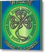 Walsh Ireland To America Metal Print