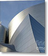 Walt Disney Concert Hall 14 Metal Print