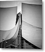 Walt Disney Concert Hall. Metal Print