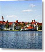 Walt Disney World Resort Metal Print