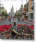Walt Disney World Transportation 3 Panel Composite 02 Metal Print