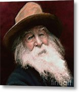 Walt Whitman Metal Print