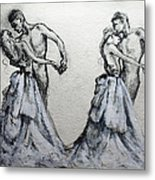Waltzing With You Metal Print
