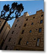 Wandering Around The Streets Of Barcelona Spain Metal Print