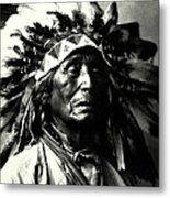 Wanduta Lakota Sioux Metal Print